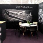 Habillage de stand toile Velcro Terradellie