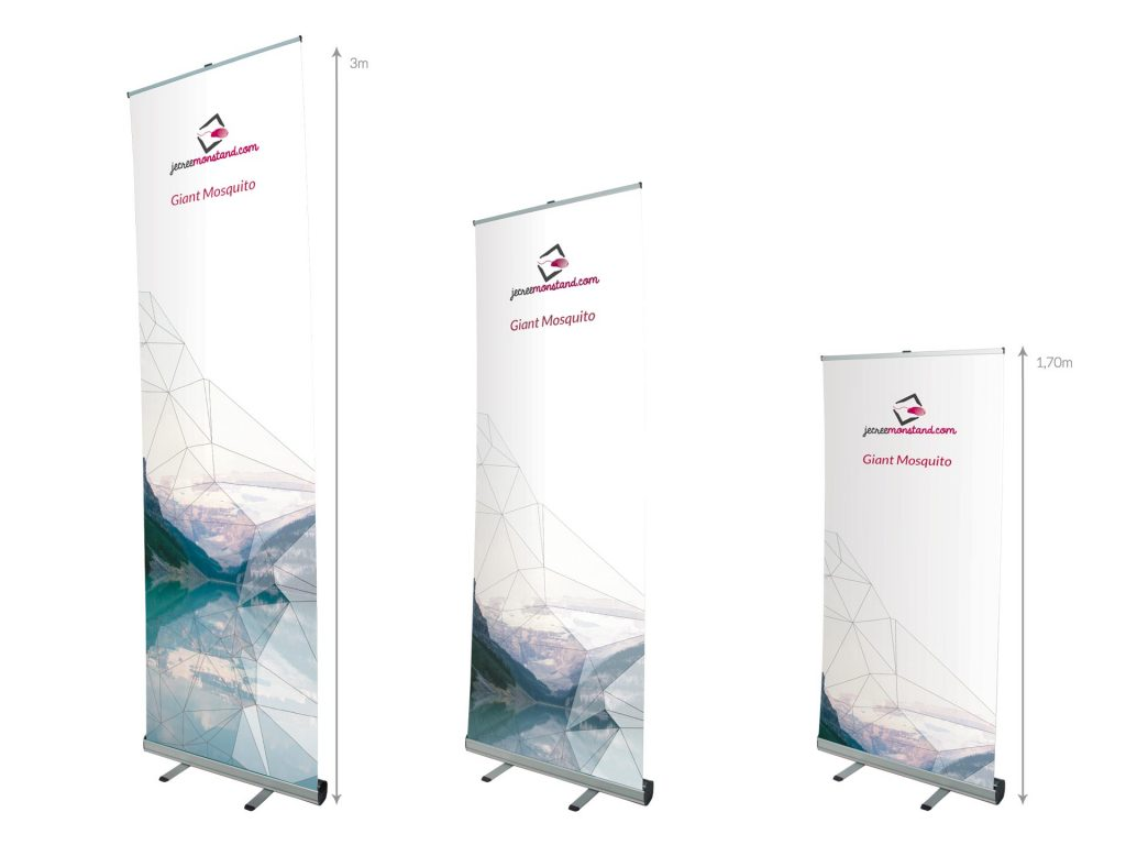 Roll-Up Giant Mosquito - taille