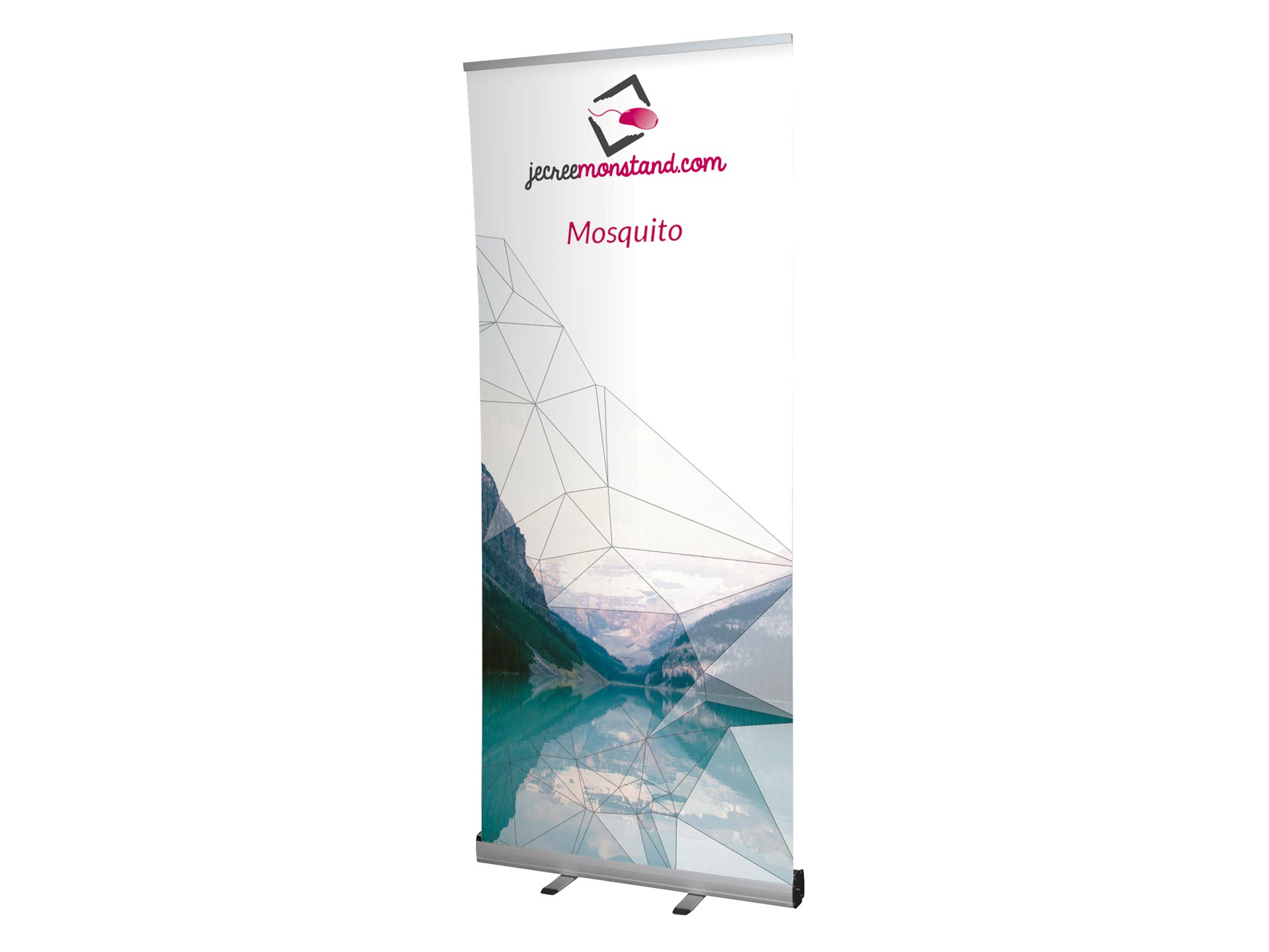 Roll-up Mosquito pour stand exposants, salons et foires