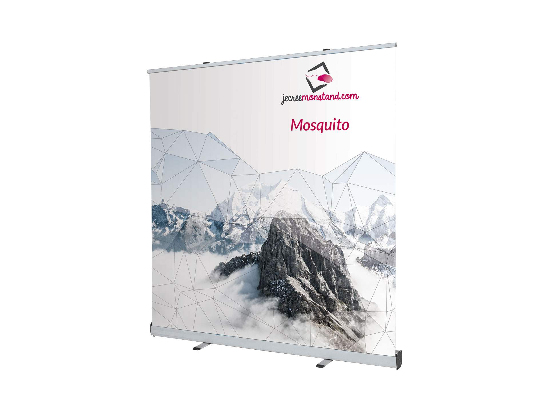 Roll-up, mur d'images Mosquito 2000 pour vos salons, foires et expositions