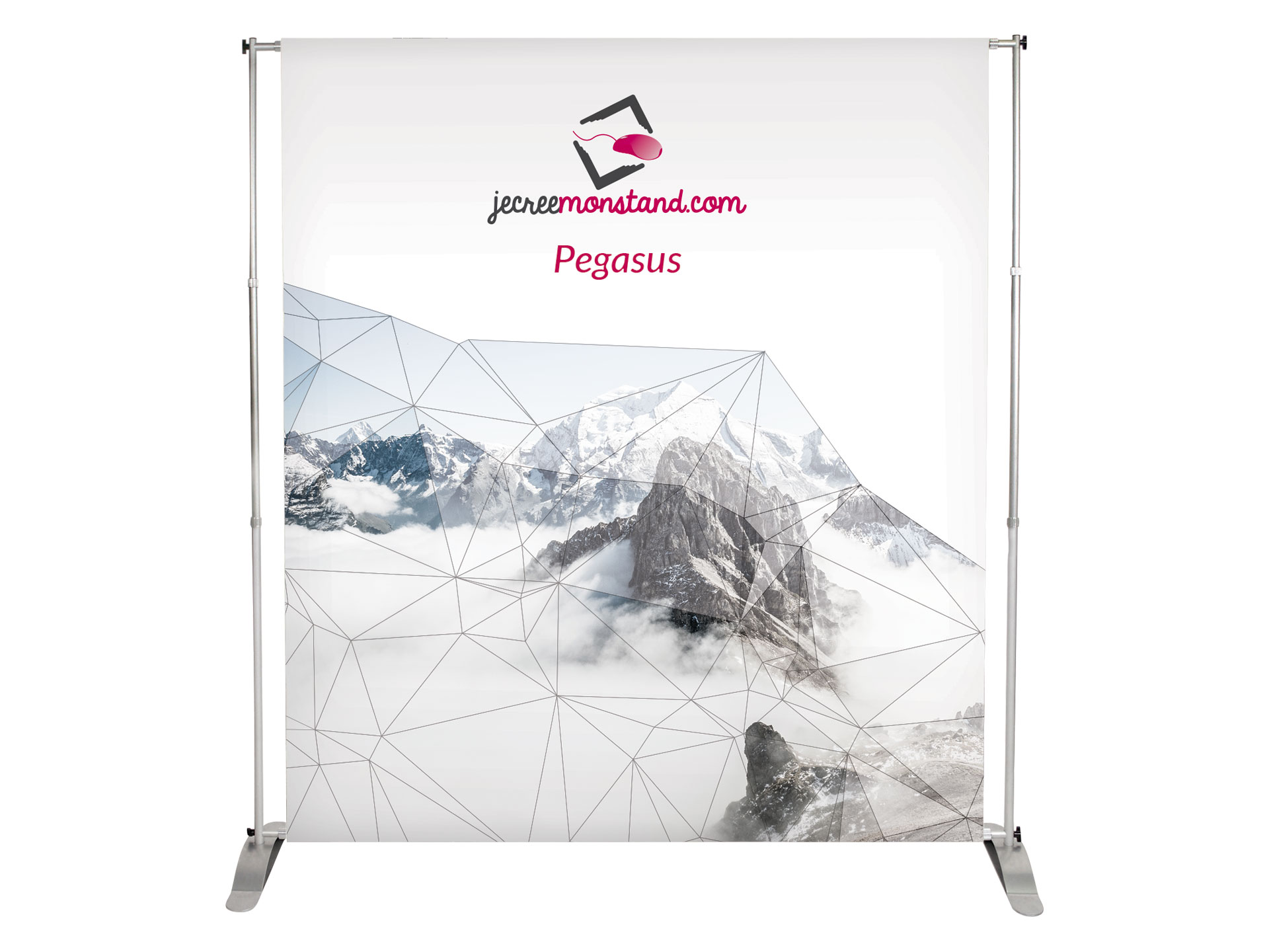 Mur d'image Pegasus pour stand, salons, foires et expositions