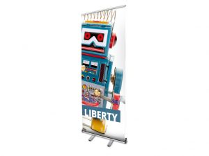 Stand portable rollup Liberty