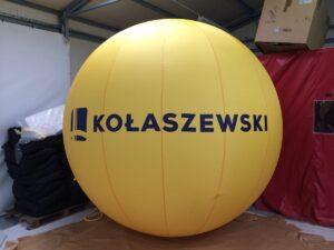 Ballon hélium double peau pour habillage et décoration de stand