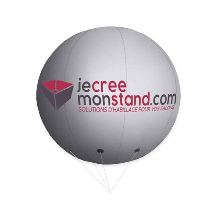 Ballon dirigeable hélium pour habillage de stand