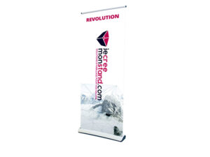 Enrouleur Roll Up Recto Revolution