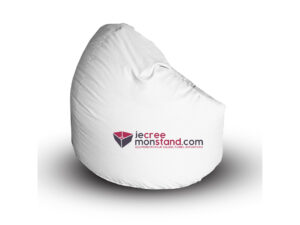 Pouf Bean bag traité anti-feu B1 avec toile 100% personnalisable