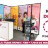 Kit Stand Déco : bâche adhésive