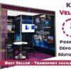 Kit Velcro - Toile tendue avec velcro adhésif